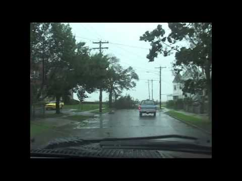 Hurricane Irene 2011 at Long Warf New Haven