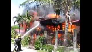 Fire At Mendoza St. Bgy, San Juan, San Antonio, Zambales, June 05, 2013
