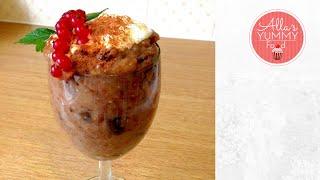 Dessert: Bread Soup - Latvian Recipe - Хлебный суп по-латышски -rupjmaizes Saldā Zupa