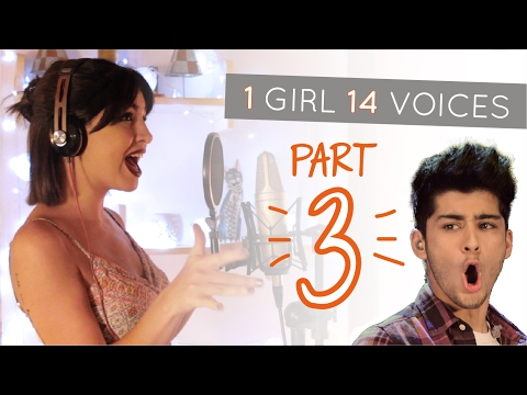 1 GIRL 14 VOICES (PART III) (PERRIE EDWARDS, TAYLOR SWIFT, ZAYN MALIK?! & 11 more) Mp3
