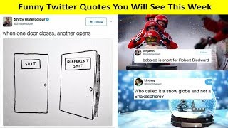 Funny Twitter Quotes Of The Week