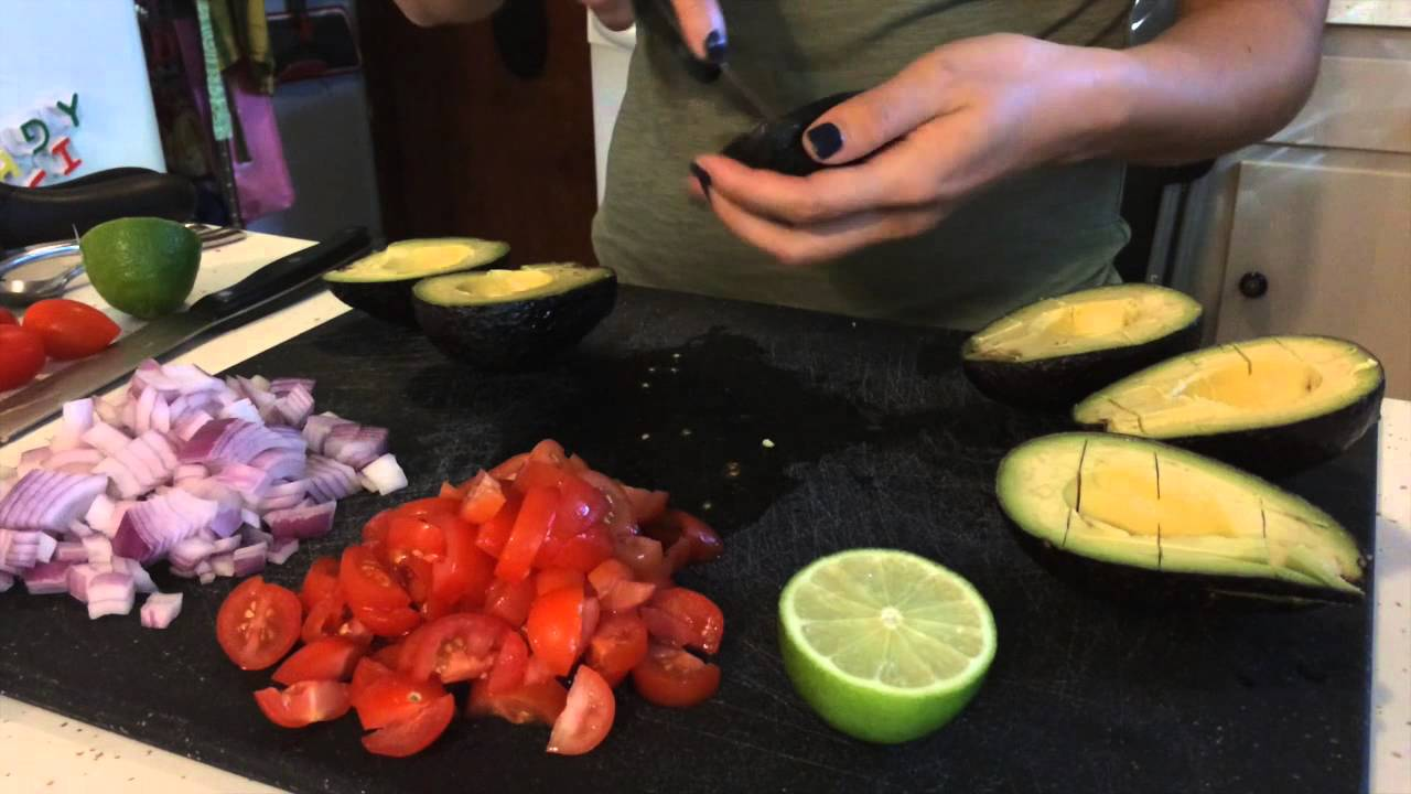 how to make guacamole easy youtube