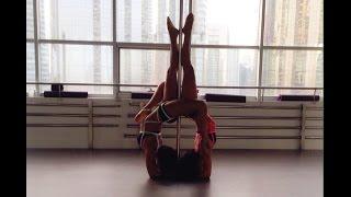 Pole Dance Dubai - Martina & Marilia at MPDS Dubai
