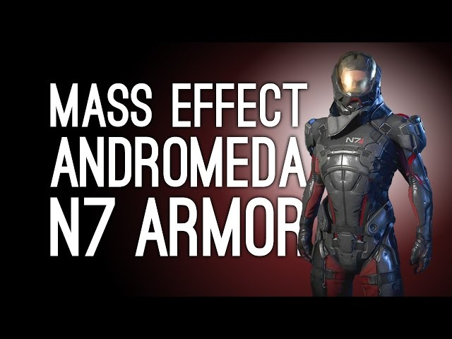 Mass Effect Andromeda N7 Armor How To Unlock Both Pathfinder And