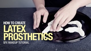 The latex prosthetics sfx tutorial