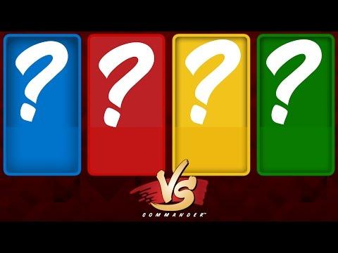 Commander VS S5E3: ??? vs ??? vs ??? vs ??? [MTG Multiplayer]
