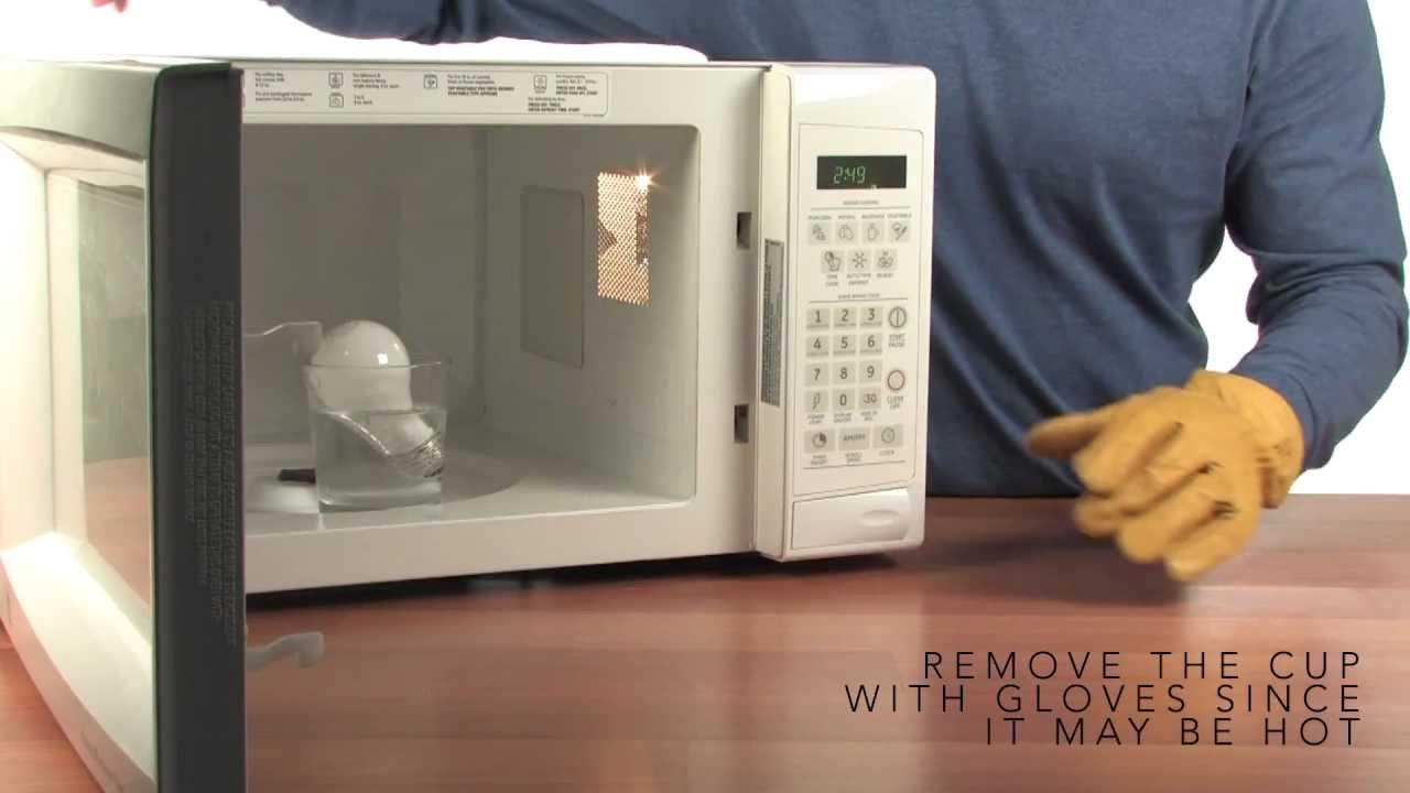 Microwave Light Bulb - SICK Science   Experiments   Steve