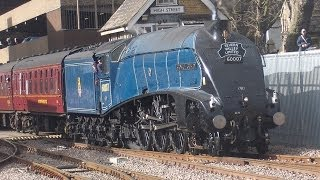 60007 sir nigel gresley out and about at lincoln