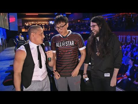TYLER1 INTERVIEWS IMAQTPIE AND DOUBLELIFT ON ALL STAR EVENT *ROASTS IMAQTPIE* | FAKER | LOL MOMENTS
