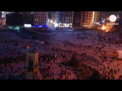 Turquie: pas de répit sur la place Taksim