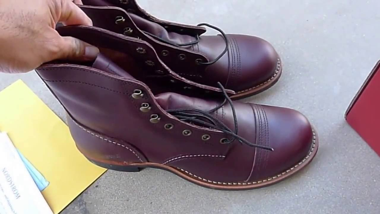 f4eb17f34b2 Red Wing Iron Ranger 8119 Oxblood Mesa Leather
