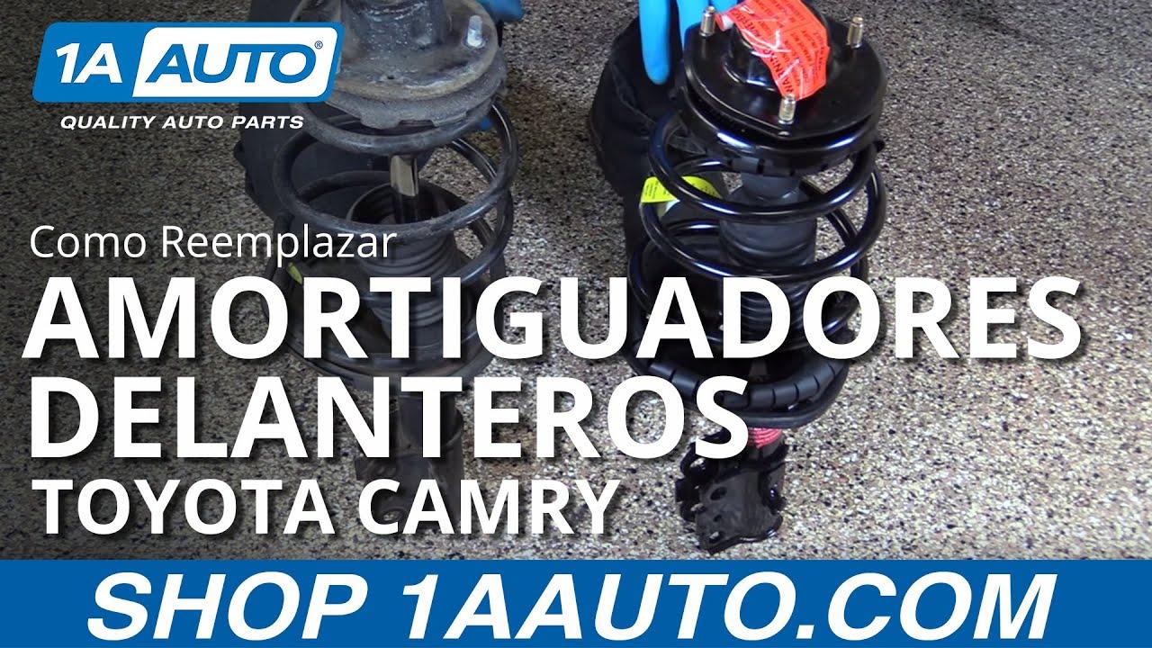 Como Reemplazar los Amortiguadores Delanteros 97-01 Toyota Camry ...