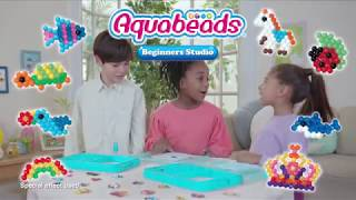 Beginners Studio TV Spot | Aquabeads | Stick with water!