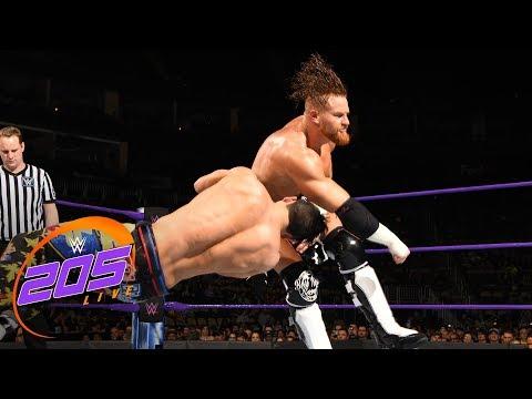 Kalisto vs. Akira Tozawa vs. Buddy Murphy vs. TJP: WWE 205 Live, March 27, 2018