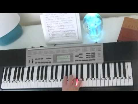 How to Play ~ Clarity ~ Zedd, ft.  Foxes ~ LetterNotePlayer ©
