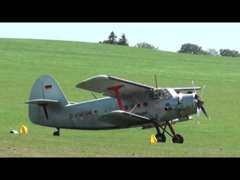 "Antonov An2 ""D-FWJM"" - Airshow Albstadt-Degerfeld 2015"
