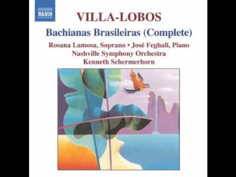 Bachiana Brasileira No. 4 for piano (1930-41) - orch. in 1941, I. Prelúdio (Introdução)