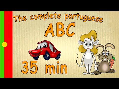 35 min - The complete ABC - learn portuguese