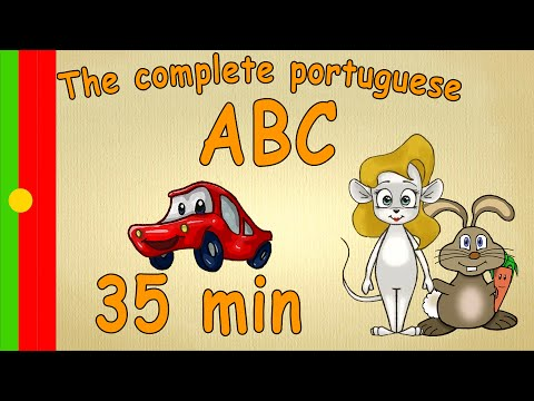35 min - The complete ABC - learn portuguese