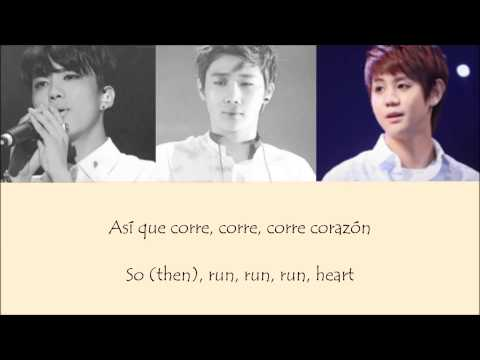 Youngjae(B.A.P), Sunggyu(Infinite), Yoseob(Beast) - Corre Lyrics (special stage)