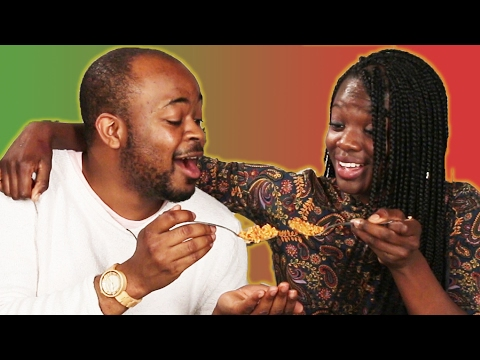 Nigerians And Ghanaians Guess Their Traditional Food