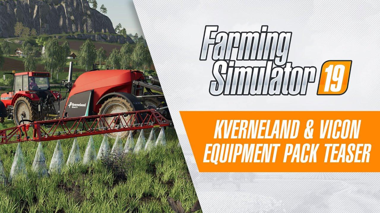 FS19] Kverneland & Vicon Equipment Pack Teaser Trailer - YouTube