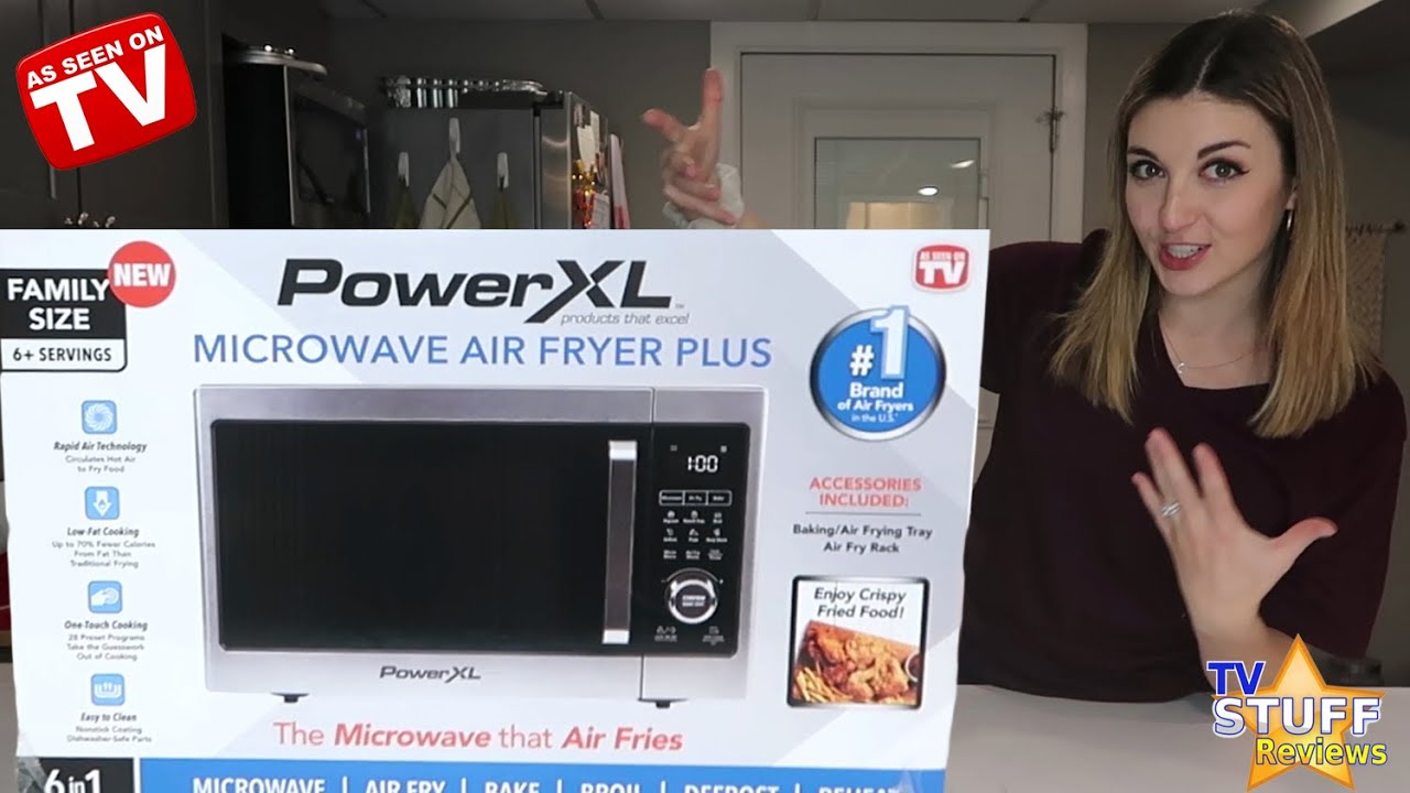 power xl microwave air fryer plus review as seen on tv