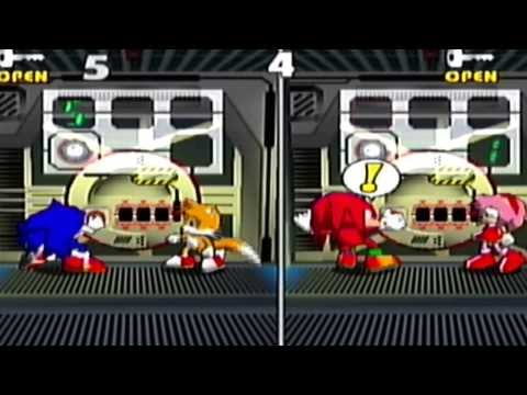 Sonic Shuffle Mini-Games Collection -Complete- (Dreamcast Gameplay)