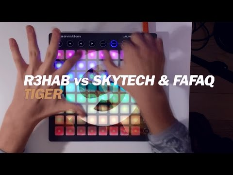 R3hab Vs Skytech & Fafaq - Tiger (Launchpad Cover By Purpz Seim)