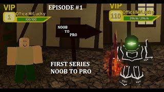 DQ Episode #1 NEW SERIES NOOB TO PRO | Dungeon Quest Roblox