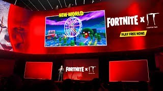 FORTNITE x IT CHAPTER 2 - Official Event