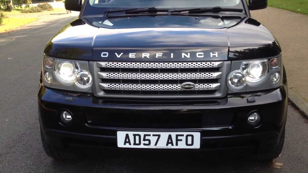 2007 Range Rover Sport TDV8 HSE FOR SALE ON EBAY - YouTube