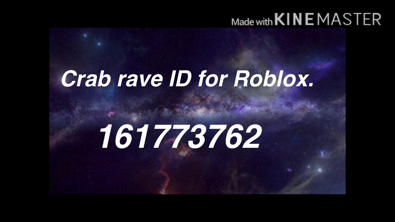 roblox id crab rave