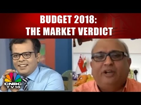 BUDGET 2018: THE MARKET VERDICT | Sharp Market Sell-off | CNBC TV18