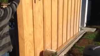 @ 14' Sliding Wood Gate For Sale Los Angeles 1-800-562-5770