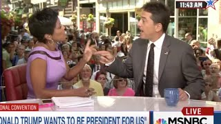 MSNBC's Tamron Hall CHECKS Scott Baio Over His Hillary Clinton & Michelle Obama Tweets *sips tea*