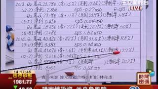 林和彥-0625 亞股疲弱 台股相對國際股市抗跌∣時間密碼∣三立財經台CH88