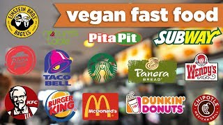 VEGAN Fast Food Choices! – McDonalds, Taco Bell, KFC, Panera & more! - Mind Over Munch