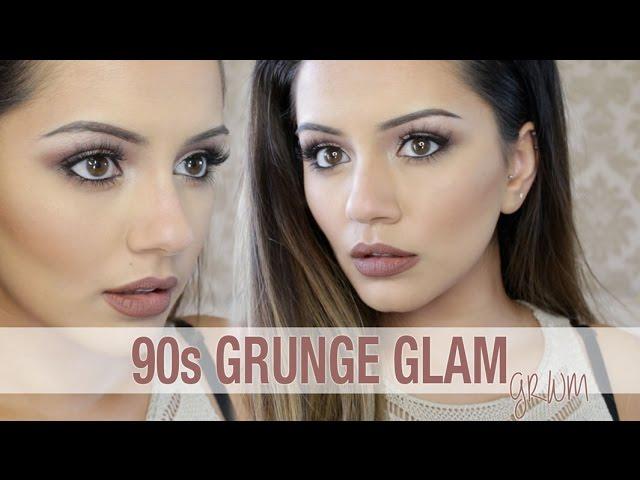 GRWM | 90s Inspired Grunge Glam Makeup Tutorial | Kaushal Beauty