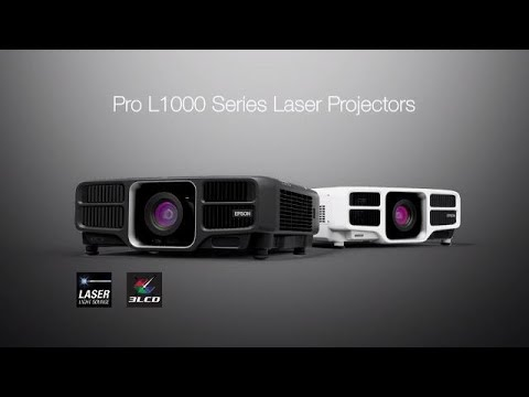 Epson High Lumens Pro L Series | Take the Tour of the Laser Projectors