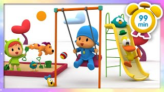 🤾‍♂️POCOYO in ENGLISH - Playground time [99 minutes] | Full Episodes | VIDEOS and CARTOONS for KIDS