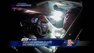 Video of Patriots wide receiver Michael Floyd's DUI arrest released