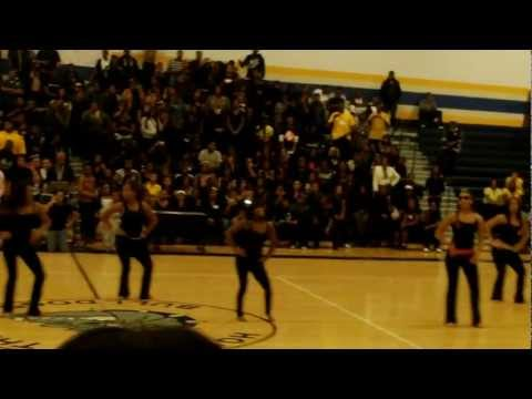 EEVPA (East English Village Preparatory Academy) Pep-rally Dance team part1