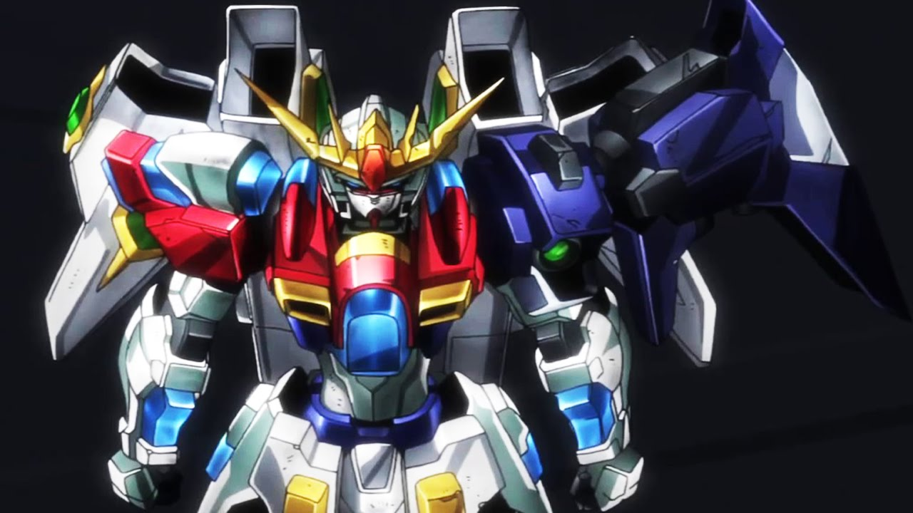 Gundam build fighters try episode 24 for Domon kasshu build fighters try