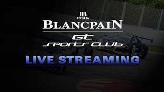 Blancpain GT Series  - Sports Club - Free Practice 1