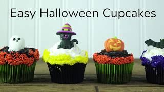 How to Make Easy Halloween Cupcakes | Sneak Peak | Global Sugar Art