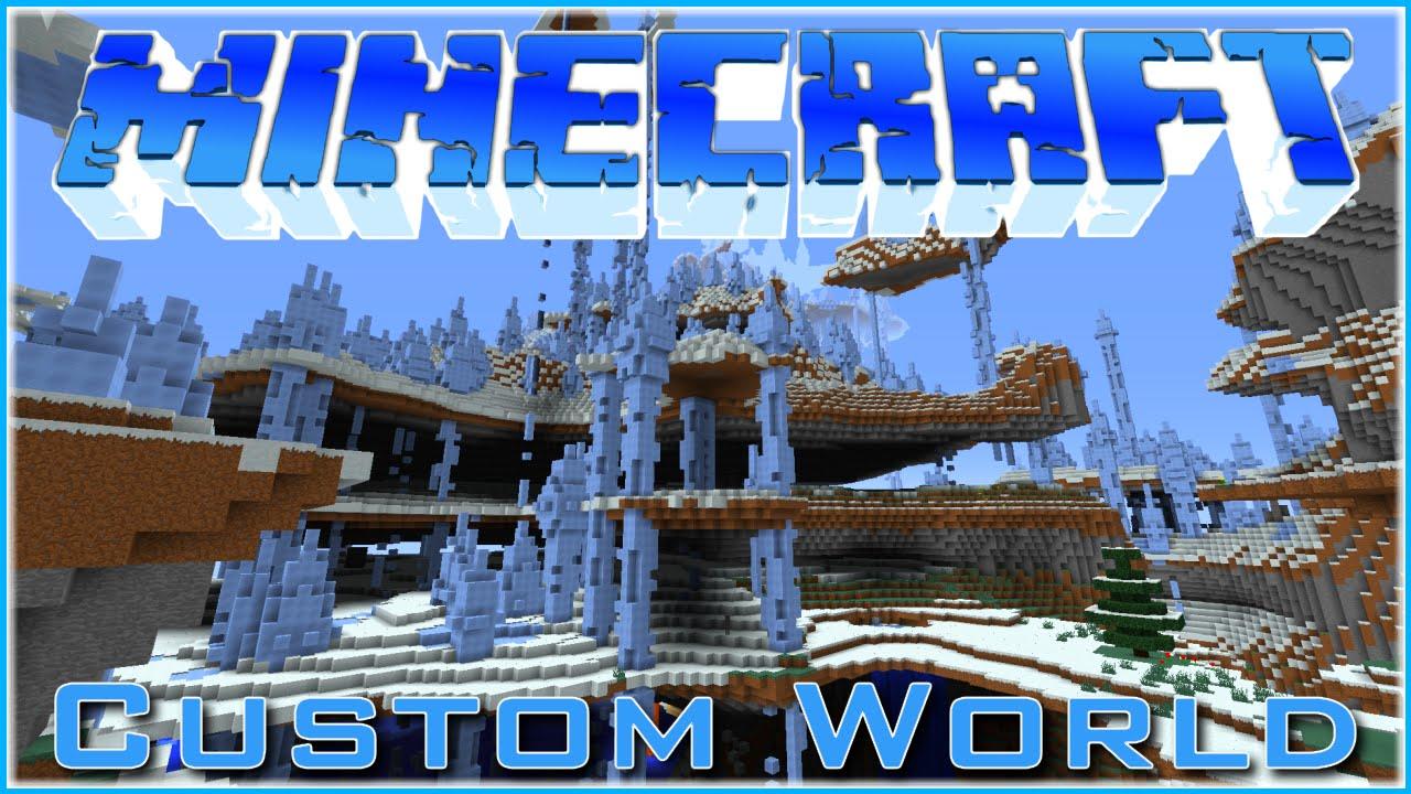 Minecraft ~ Amazing Custom World Settings! (World Download)