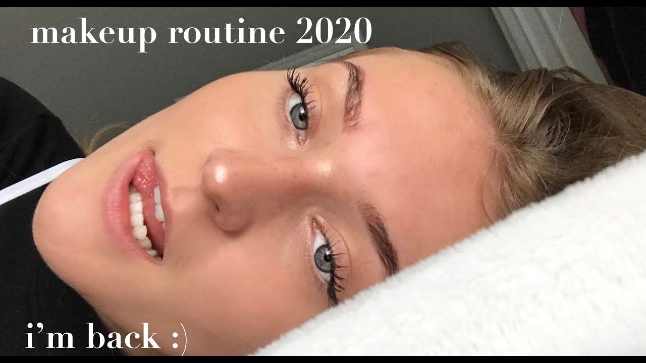 makeup routine & first video in a long time