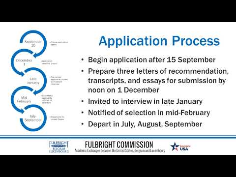 Introduction Fulbright Belgium & Luxembourg