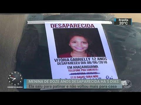 Menina de 12 anos está desaparecida há cinco dias no interior de SP | SBT Brasil (12/06/18)